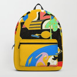 Faces - Mac Miller Backpack