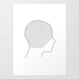 """""""OCD"""" Art Print"""