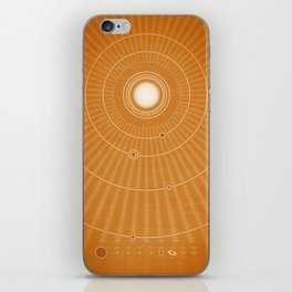 Solar System Hot iPhone Skin