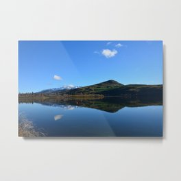 New Zealand Reflection I Metal Print