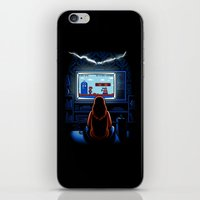 8bit iPhone & iPod Skins featuring 8bit Who by Bamboota