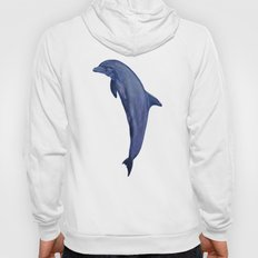 dolphin with flower of life Hoody