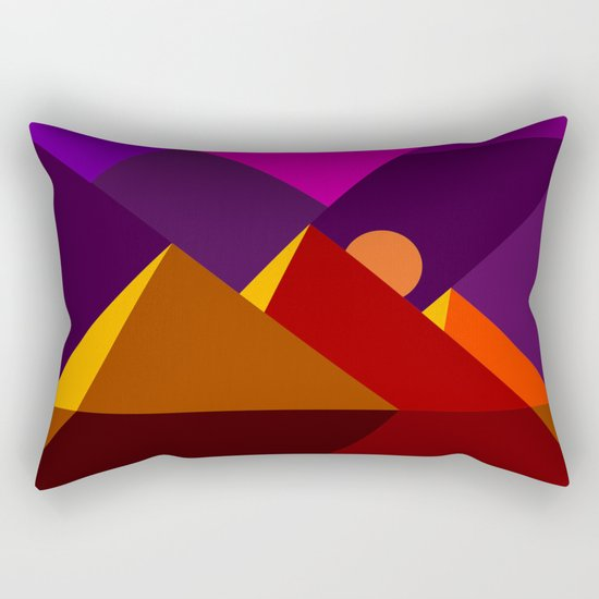 Road to Giza Rectangular Pillow