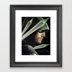 The Arrow Framed Art Print