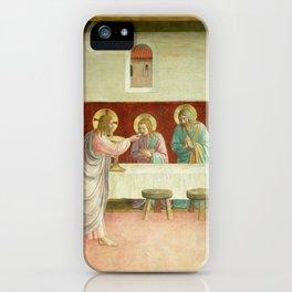 "Fra Angelico (Guido di Pietro) ""The Last Supper"" iPhone Case"