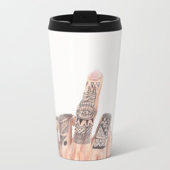 Hello! Metal Travel Mug