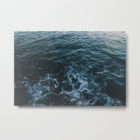 Dark #Sea Metal Print