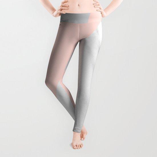 Scandi Collage Leggings
