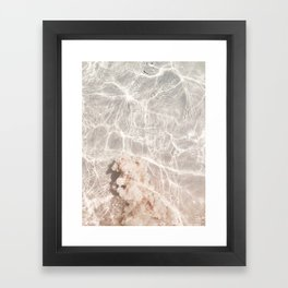 Clearly Sea Framed Art Print