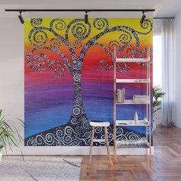 Growing Zenful tree Wall Mural