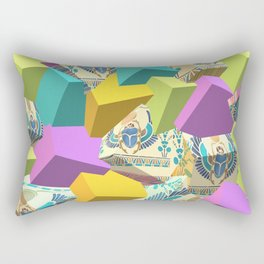 Summer Collection Egypt Skorobey Beetle Rectangular Pillow