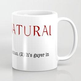 Supernatural: Gayer in Spanish Coffee Mug