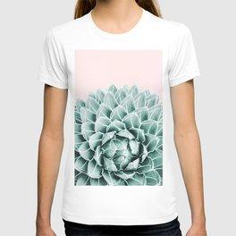 Succulent splendour - blush T-shirt