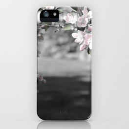 Crab Apple in Pink iPhone Case