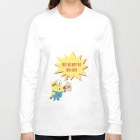 minion Long Sleeve T-shirts featuring minion by Dripdrop