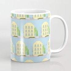 Yellow houses Mug