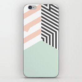 Mint Room #society6 #decor #buyart iPhone Skin