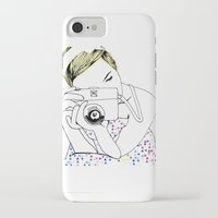 photographer iPhone & iPod Cases featuring Photographer by Diana Arend