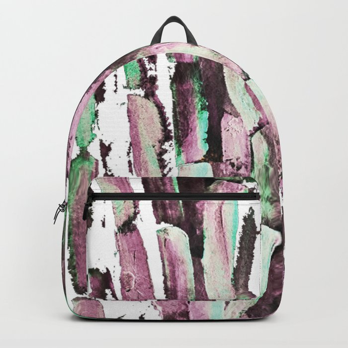 Purple Sugarcane on Greenery Backpack