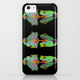 DOUBLE MIRROR FROGGINESS iPhone Case