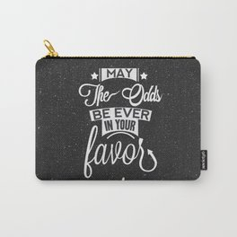 May the odds be ever in your favor. Carry-All Pouch