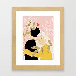 Blind Love Framed Art Print