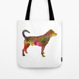 Danish swedish farmdog 01 in watercolor Tote Bag