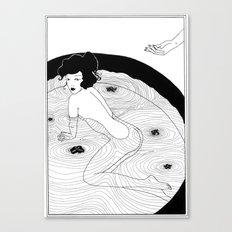Art Nouveau Posters: The Bath Canvas Print