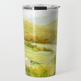 Autumn Fall on a Vermont Town Travel Mug