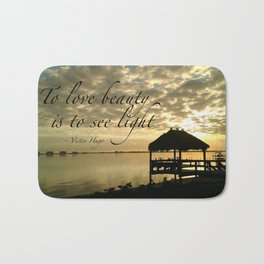 WORDS - TIKI SUNRISE Bath Mat