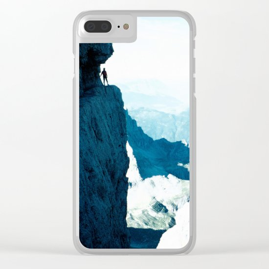 Almost there #Mountain #1 #art #society6 Clear iPhone Case