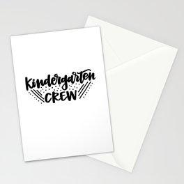 Kindergarten crew Stationery Cards