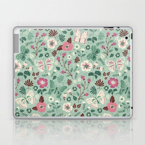 Garden Butterflies  Laptop & iPad Skin