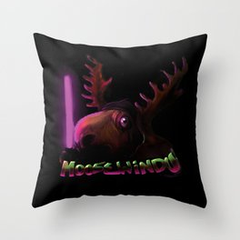 The Moose Windu in all of us. Throw Pillow