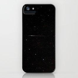 Perseid Meteor iPhone Case