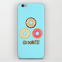 Go doNUTS! iPhone Skin