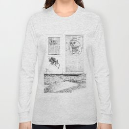 Death's newspaper booth Long Sleeve T-shirt
