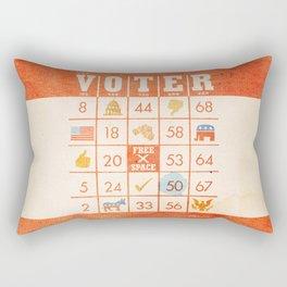 The Bingo Vote Rectangular Pillow