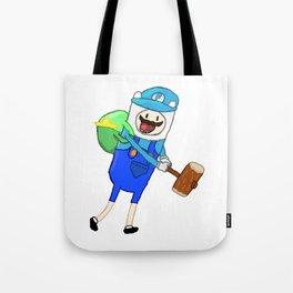 Mario + Finn Crossover Tote Bag