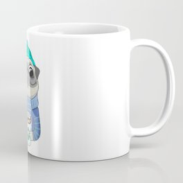 Pug with coffee Coffee Mug