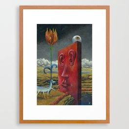 The Break Framed Art Print