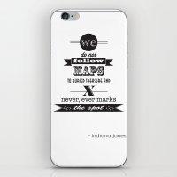 indiana jones iPhone & iPod Skins featuring indiana jones by christopher-james robert warrington