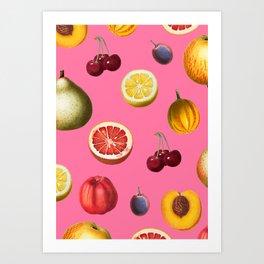 Fruity Mix Art Print
