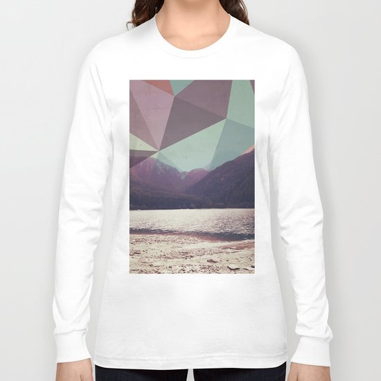 Autumnal Mountains Long Sleeve T-shirt