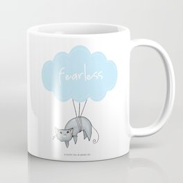 Fearless Cat Coffee Mug