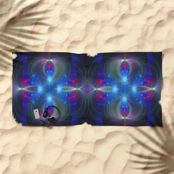 Enchanting abstract Beach Towel