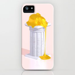 Golden Misery iPhone Case