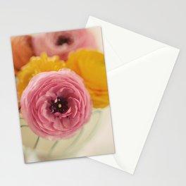 Vintage Ranunculus Stationery Cards