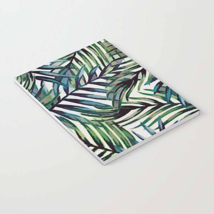 Palm Leaves Abstract Notebook