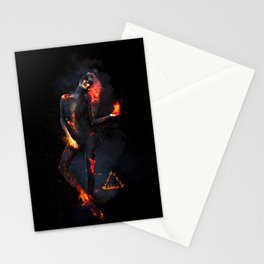 Fire Witch - Elements Collection Stationery Cards